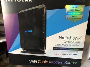 Brand New!!! Wifi cable modem router for Sale in Virginia Beach, VA