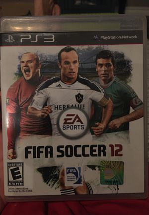 Fifa 12 for PS3, great condition for Sale in Newcastle, OK