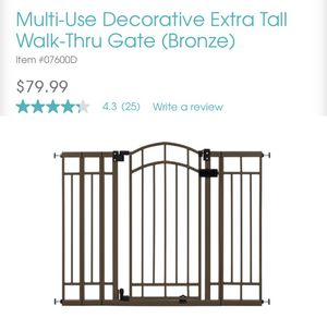 Baby gate (NEW) for Sale in Tulare, CA