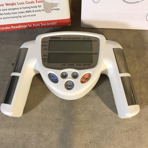 Omron HBF-306 Body Fat Loss Analyzer Monitor