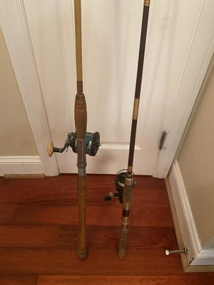 Vintage fishing rods w/ reels - 75 each for Sale in Capitol Heights, MD