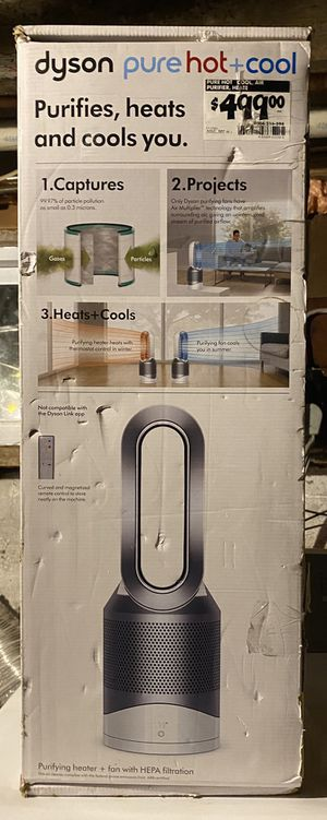 Dyson air purifier pure hot + cool does it all for Sale in North Providence, RI