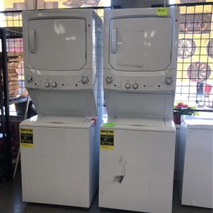 Brand New GE Washer And Dryer Stackable for Sale in Elkridge, MD