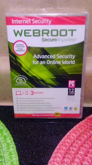 Webroot antivirus for Sale in Mabelvale, AR