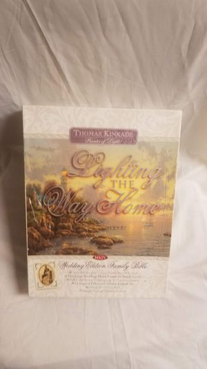Thomas Kinkade Lighting The Way Home Wedding Edition/Family Bible for Sale in Arroyo Grande, CA