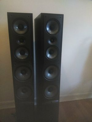 Infinity composition overture tower speakers 15-200w 8 ohm model ovtr-3 type 331251, for Sale in Philadelphia, PA