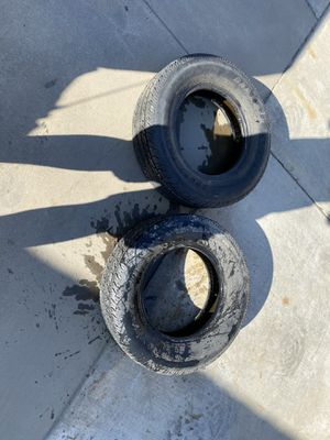 Trailer tires 225/75r15 for Sale in Bakersfield, CA