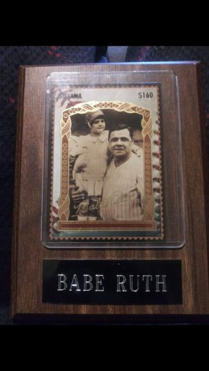 Babe Ruth baseball card 190 obo for Sale in Haines City, FL
