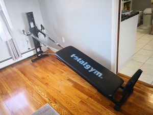 Total Gym Workout bench for Sale in Clifton, NJ