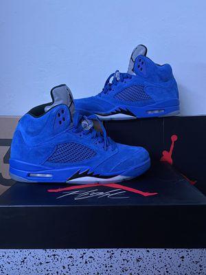 Jordan 5 Retro Blue Suede - Size 12 for Sale in Sunnyvale, CA