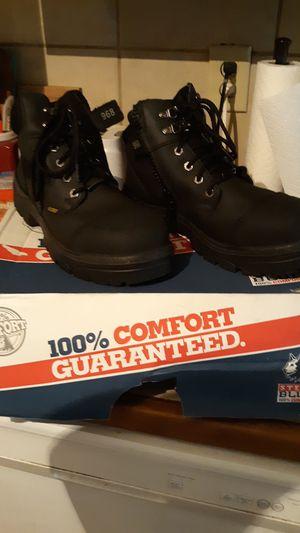 Blue Steel, steel toe work boots for Sale in La Porte, TX