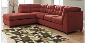 Value City Sierra colored sectional for Sale in Silver Spring, MD