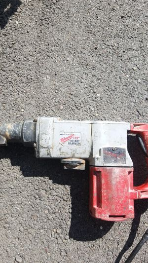 Milwaukee inch and a 1/2 rotary hammer for Sale in Layton, UT
