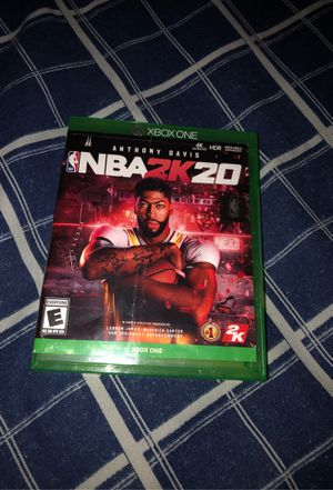 NBA 2k20 Xbox one for Sale in Cleveland, OH