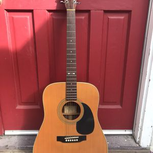 SIGMA BY MARTIN DR-4H VINTAGE ACOUSTIC GUITAR 1970'S for Sale in Fremont, CA