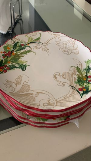 Holiday plates for Sale in Midland, TX
