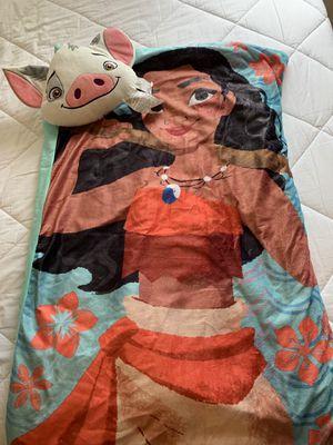 Moana sleeping bag for Sale in Imperial Beach, CA