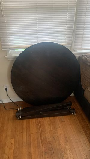 Dining table round all pieces( easy assembly as is ) for Sale in Los Angeles, CA