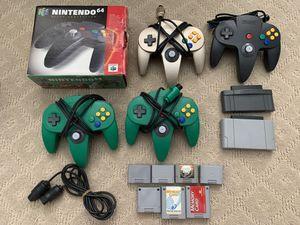 Nintendo 64 n64 accessories for Sale in Orange, CA
