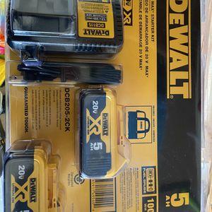 Dewalt Battery Set for Sale in Sherwood, OR