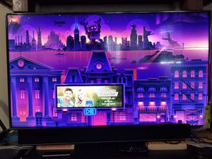 Hisense 55 inches tv,with sound bar,spekars (all together for sale) for Sale in Irving, TX