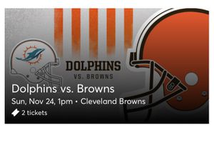 Browns vs Dolphins Tickets for Sale in Hudson, OH