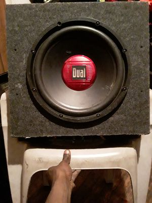 12'in subwoofer works great for Sale in Detroit, MI