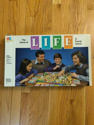 Vintage 1982 game of Life board game for Sale in Palatine, IL