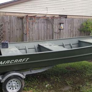 14' Alumacraft Extra Wide Boat for Sale in Friendswood, TX