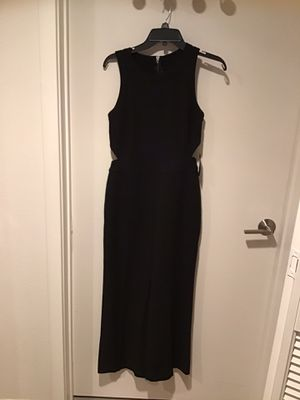 BLACK CUT OUT SIDES JUMPSUIT for Sale in Irvine, CA
