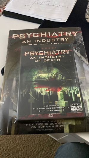 PSYCHIATRY AN INDUSTRY OF DEATH DVD for Sale in St. Louis, MO