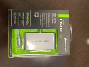 IO Gear USB-C to USB-A Hub with Ethernet! Great for Laptop for Sale in Houston, TX