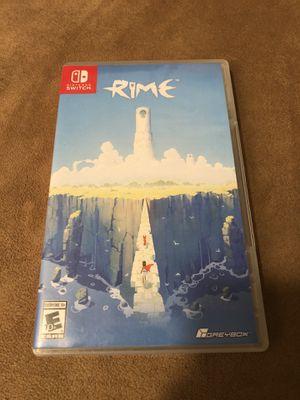 Nintendo Switch Game- Rime for Sale in Corona, CA