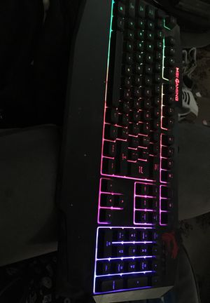 MSI mechanical gaming keyboard with lights for Sale in Riverside, CA