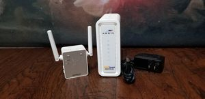Arris Cable Modem/Router and Netgear WiFi extender for Sale in Frisco, TX