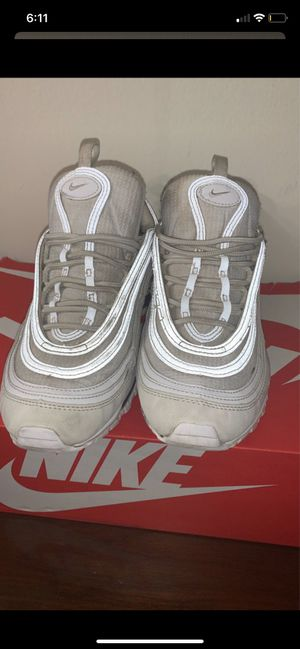 2 pairs of shoes airmax 97 triple white adidas shoes for Sale in Alexandria, VA