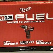 """MILWAUKEE M12 12V FUEL BRUSHLESS 1/2"""" HAMMER DRILL KIT for Sale in Overland Park, KS"""