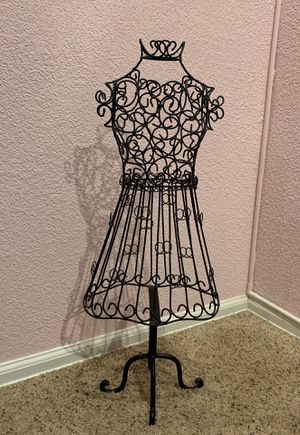 Vintage Wrought iron dress sculpture for Sale in Aurora, CO