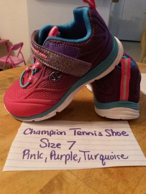 a74eb3834 ... Champion girls tennis shoes purple