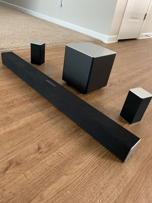 Vizio Soundbar with Bluetooth Subwoofer for Sale in Blythewood, SC