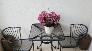 Wrought iron table and chair set for Sale in Union Park, FL