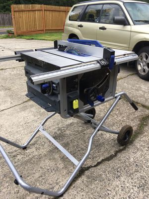 Kobalt mobile table saw for Sale in Issaquah, WA