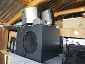 Klipsch ProMedia Ultra 5.1 Multimedia Speaker System, (6 Speakers, Black) for Sale in Beulaville, NC