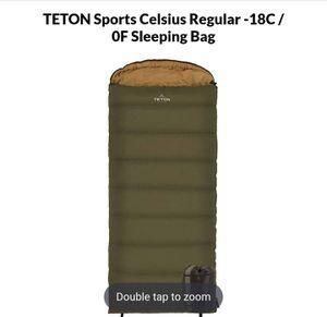 teton sports sleeping bag for Sale in San Bernardino, CA