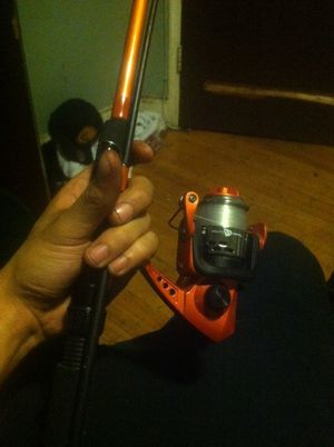 South Bend Neutron Series Fishing rod with rail for Sale in Malden, MA