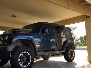 2007 Jeep Wrangler Unlimited for Sale in Phoenix, AZ