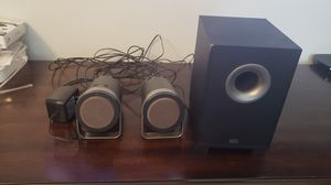 Altec Lansing computer speakers with subwoofer. for Sale in Charlotte, NC