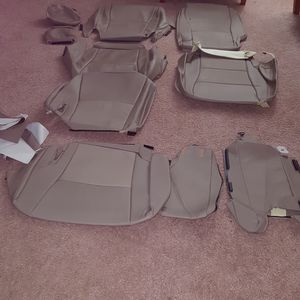 Full Leather Seat Cover For Toyota Highlander Must Go for Sale in Cary, NC