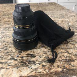 Nikon Lens AF-S 14-24mm 1:2.8G ED for Sale in Irvine,  CA