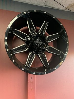 Lethal Off- Road Wheels , All Truck options 7 8U for Sale in Dallas, TX